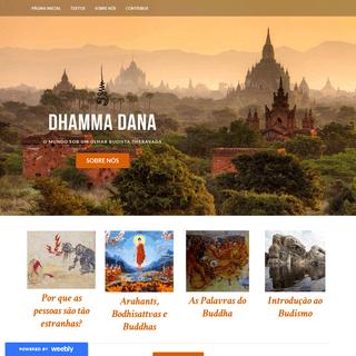 Dhamma Dana - Página Inicial