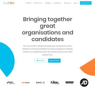Talent Acquisition & Engagement Platform - LiveHire
