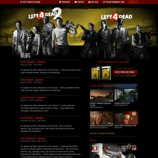 Left 4 Dead Blog