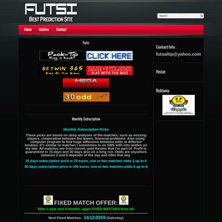 A complete backup of futsitip.com