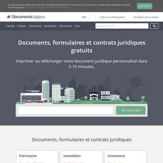 Documents juridiques, formulaires, et contrats gratuits - DocumentsLégaux.fr