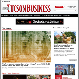insidetucsonbusiness.com - News and features for Tucson and Southern Arizona's business and legal communities