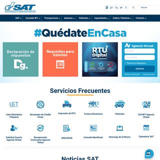 Portal SAT - Superintendencia de Administración Tributaria - Guatemala