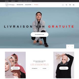 Boutique de vêtement femmes musulmanes - Chic and Modesty