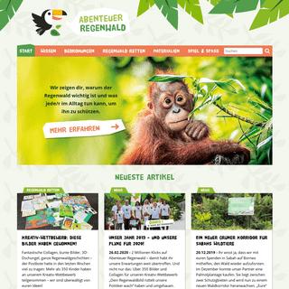 Abenteuer Regenwald – Schüler und Kids für den Regenwald