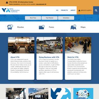 Homepage - VTA