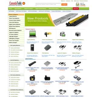 Canada Laptop Battery, Laptop Charger - Batteries & Chargers by CanadaTekk.com