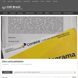 CMI Brasil - Centro de Mídia Independente