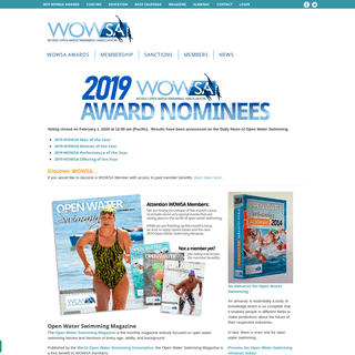 World Open Water Swimming Association – For Those Who Venture Beyond the Shoreline