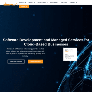 Romexsoft- Software Development Company - Managed Services for AWS