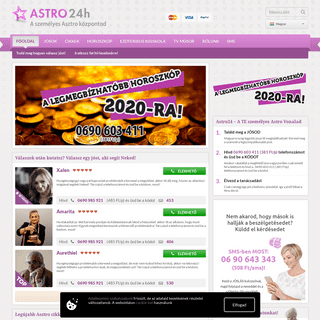 Astro24h - Jósok, látók, kártyajósok, számmisztikusok