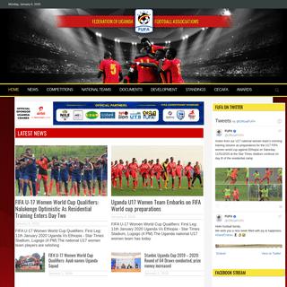 Home - FUFA- Federation of Uganda Football Associations