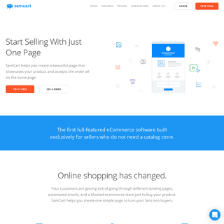 SamCart - The Simple Way To Sell Online
