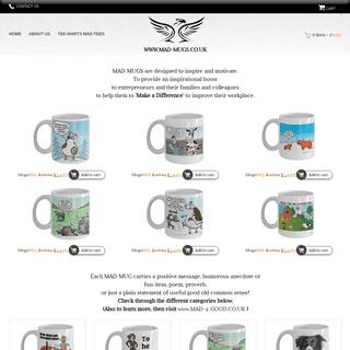ArchiveBay.com - mad-mugs.co.uk - Mad Mugs Unique deisgns - Motivational Mugs - Best Mugs