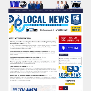 ArchiveBay.com - wdaz.com - WDAY - WDAZ - The News Leader