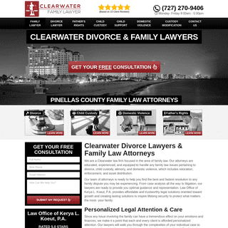 Best Divorce Lawyers Clearwater FL - Family Law Attorneys Near Me