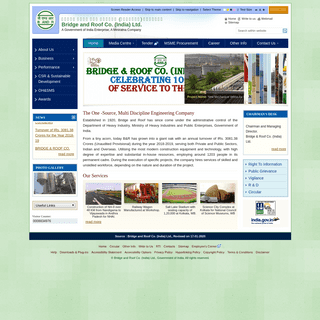 Home- Bridge and Roof Co. (India) Ltd.