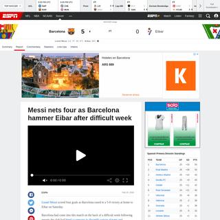 ArchiveBay.com - www.espn.com/soccer/report?gameId=550365 - Barcelona vs. Eibar - Football Match Report - February 22, 2020 - ESPN