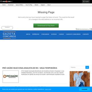 A complete backup of agazetaconcursos.com.br