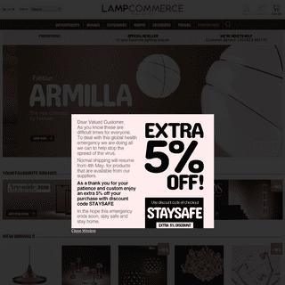 ArchiveBay.com - lampcommerce.com - LampCommerce - Designer Lighting & Lamps - Sale now on!