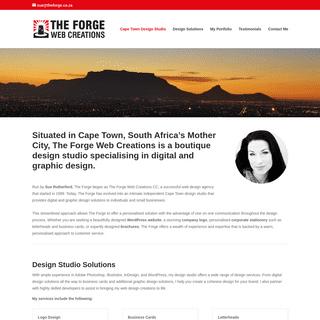 Cape Town Design Studio - The Forge Web Creations
