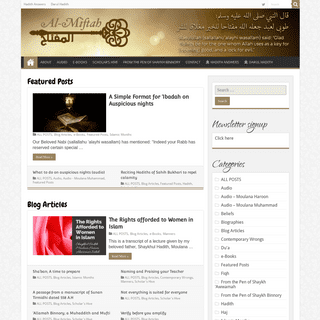 ArchiveBay.com - al-miftah.com - Al-Miftah – Blog by Moulana Muhammad