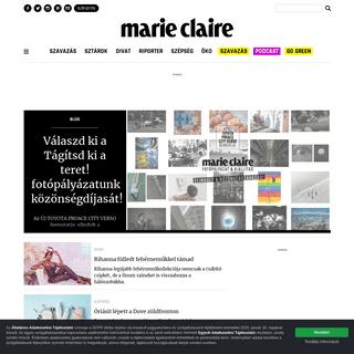 Marie Claire - Divat, szépség, életmód, sztárok, kultúra