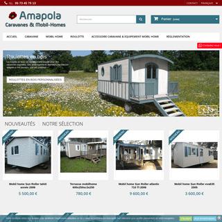 Vente de caravane & Mobil home occasion et neuf - Languedoc - Amapola caravane mobil home