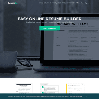 ResumeGig- Build the resume that best represents you