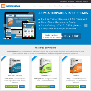 Joomla Extensions by Joomdonation - Joomla Extensions by Joomdonation