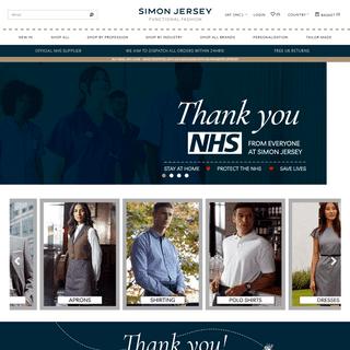 Simon Jersey- Staff Uniform & Workwear Suppliers - Work Uniforms