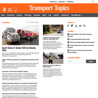 The Leader in Trucking & Freight News - Transport Topics
