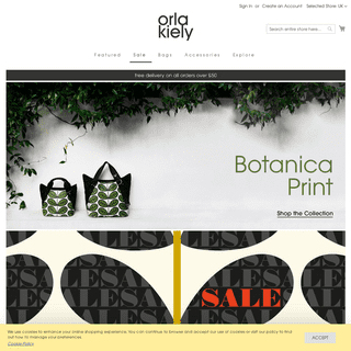 Orla Kiely Official Website - Bags and Accessories