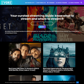 The Vore - The best new movies & series streaming online on Netflix, Amazon Prime & Hulu selected