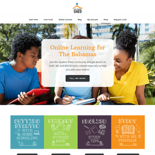 The Student Shed – Online Learning for The Bahamas