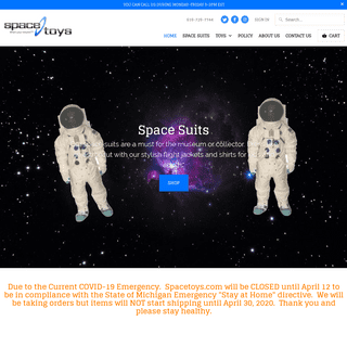 Space Toys.com- What's Your Mission-