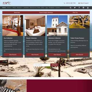 Home - Namibia Wildlife Resorts