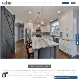 Naperville Kitchen Remodeling, Basement Finishing, Bathroom Remodeling - Sebring Design Build