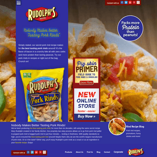 ArchiveBay.com - rudolphfoods.com - Pork rinds are a gluten free, high protein, low-carb snack