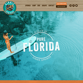 A Slice of Pure Florida - Ginnie Springs Outdoors - High Springs, FL
