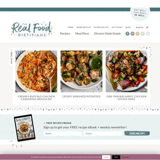 Home Page - The Real Food Dietitians