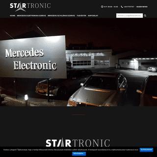 Kezdőlap - Mercedes Electronic