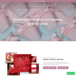 Wedding Shop World