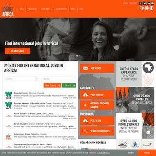 Find international jobs in Africa - JobnetAfrica