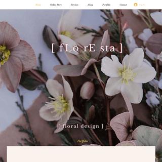 Flower Shop - Floresta Flower Design - Long Island City