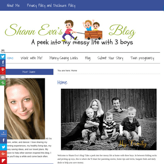 Home - Shann Eva's Blog