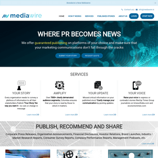 Online Digital PR submission Company - Online Content Publishing PR website