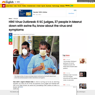 H1N1 Virus Outbreak- 6 SC judges, 37 people in Meerut down with swine flu; know about the virus and symptoms