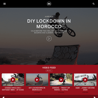 DIG BMX - The leading online BMX magazine with unique articles, videos, reviews, BMX events & photo galleries.