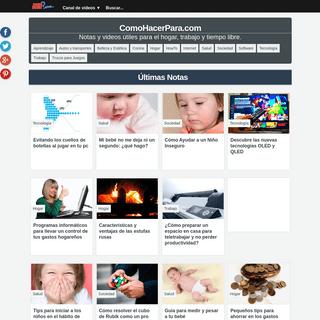 ComoHacerPara.com - Consejos, Guías y Tutoriales
